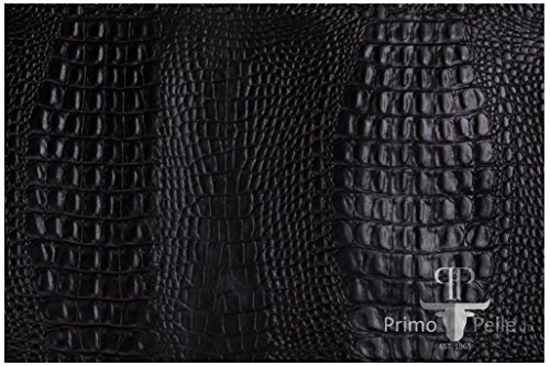 And 1 Embossed Belt (Primo Pelle full grain Leather cowhide CROCODILE embossed design in various colors and sizes (12