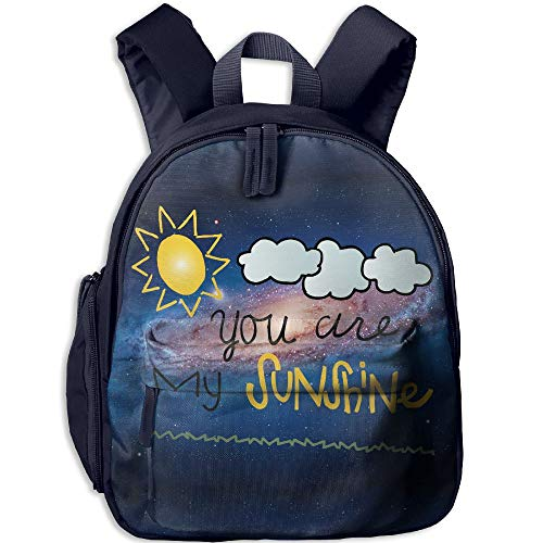 You Are My Sunshine Colored Cute Kids' Backpacks Little Kid And Toddler Safety Harness Backpack