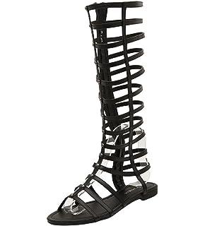 stivali donna modello gladiatori