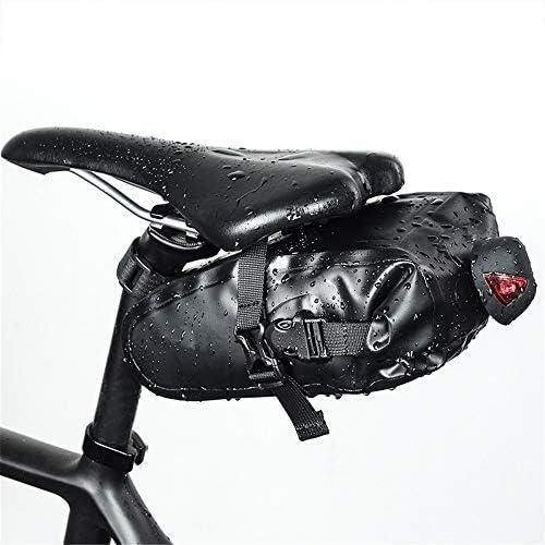自転車用サドルバッグ マウンテン防水自転車サドルバッグロードテールパッケージマウンテンロードバイク MBTまたはロードバイクシート用