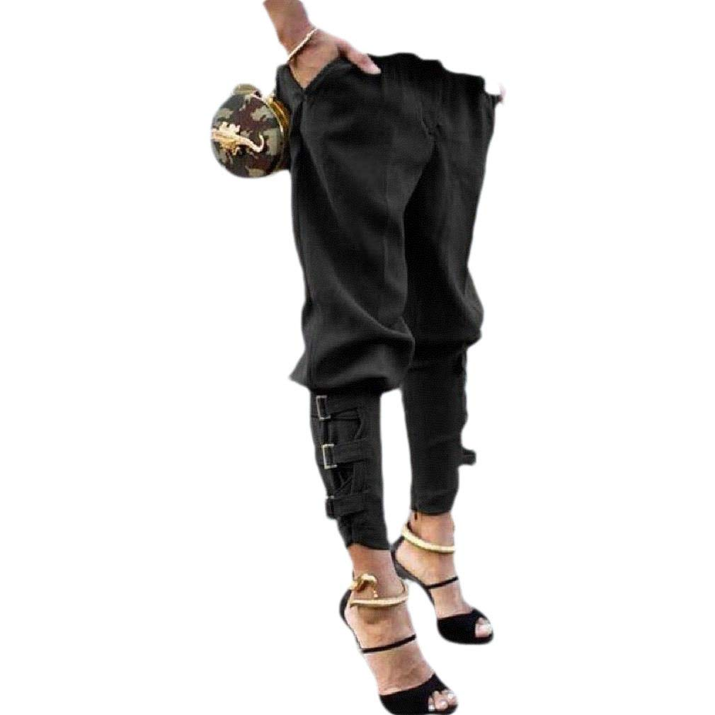 Andopa Women Plus Size Harem Pants Lounge Long Pants Classic Harem Pants