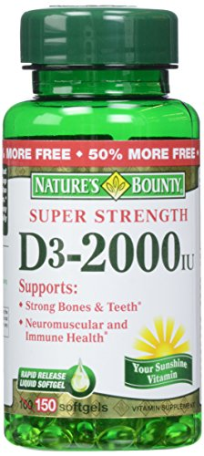Natures Bounty 2000 Softgels 100 product image