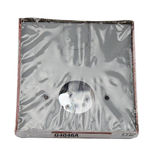 [해외]WIREMOLD LEGRAND G4046A 접이식 전화 덮개, 회색/WIREMOLD LEGRAND G4046A RECEPTACLE TELEPHONE COVER PLATE, GRAY