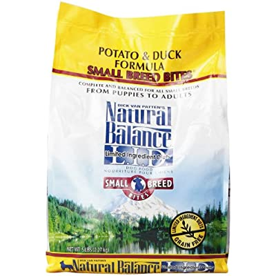 Limited Ingredient Diets Potato and Duck Formula Small Breed Bites Dry Dog Food