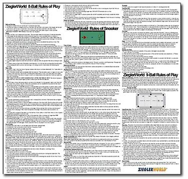 Best Selling Top Best 5 Billiards Rules From Amazon 2017