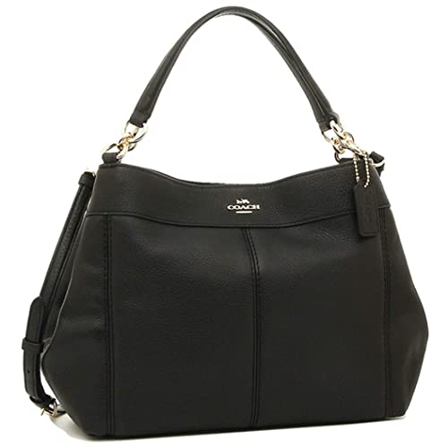 a72f14c3 Coach Women's Small Lexy Shoulder Bag in Refined Pebble Leather ...