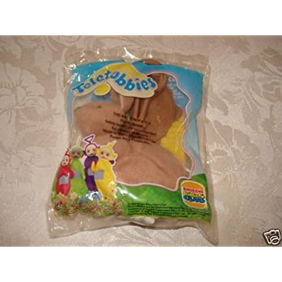 Teletubbies Burger King Toy: Plush Brown Bunny Rabbit Fingerpuppet with Keyclip (1999): Toys & Games