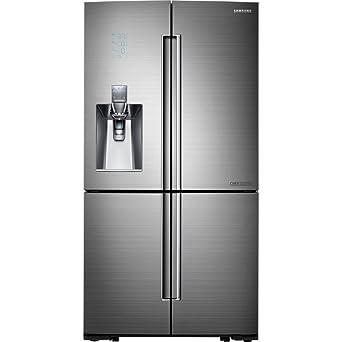 Samsung Chef Collection RF24J9960S4 36\u0026quot; 4-Door Counter-Depth Refrigerator with 24 cu  sc 1 st  Amazon.com & Amazon.com: Samsung Chef Collection RF24J9960S4 36\u0026quot; 4-Door ...