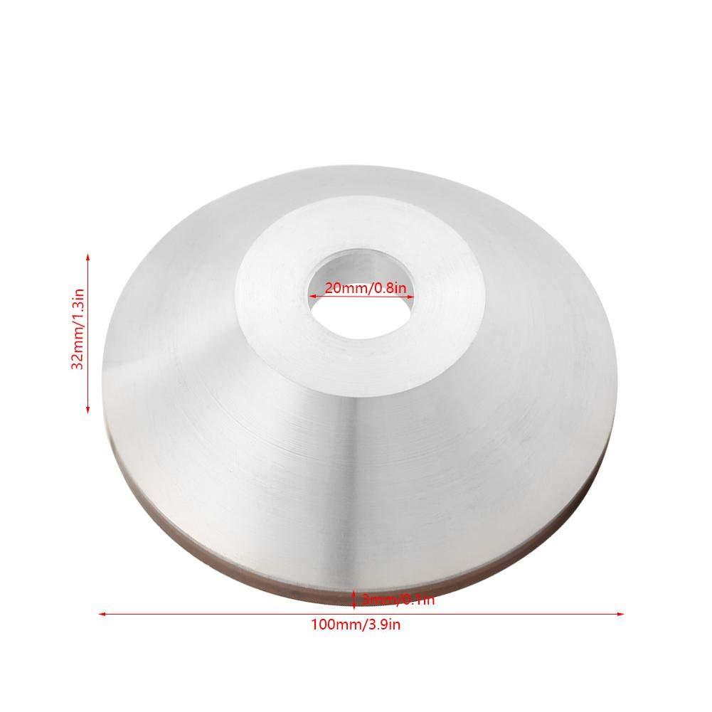 Disco abrasivo de molino de la muela 180 de la rueda de la taza de diamante de 100 mm para metal de carburo