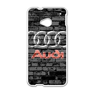 Happy Audi sign fashion cell phone case for HTC One M7