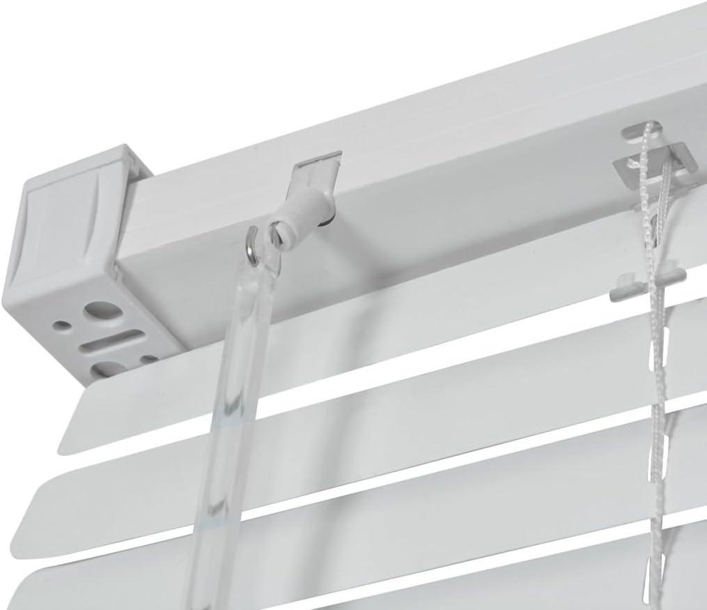 vidaXL Store Aluminium Store /à Enrouleur Pare-Vue occultant 60 x 130 cm Argent/é