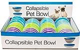 Kole KI-DI292 Collapsible Pet Bowl Countertop Display, One Size