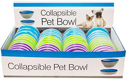 Kole KI-DI292 Collapsible Pet Bowl Countertop Display, One Size by Kole