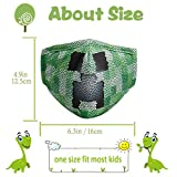 Washable Kids Face Mask with Adjustable Ear Loops