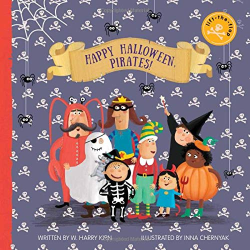 Happy Halloween, Pirates!: Lift-the-Flap Book (Clever Flaps)