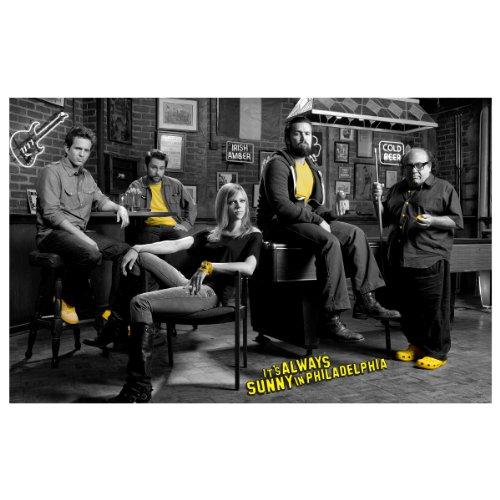 It's Always Sunny in Philadelphia Cast Poster - Shops In Philadelphia