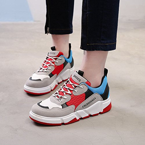 GUNAINDMXShoes/Shoes/Shoes/Shoes/All-Match/Spring/Winter/Running Shoes gules