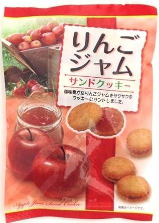 三黒製菓 りんごジャムサンドクッキー 105g×12袋