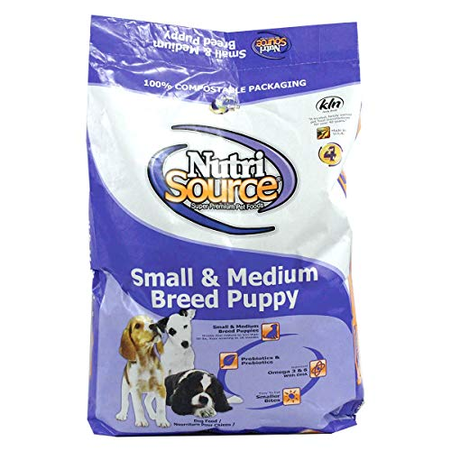 (Nutrisource, Dry Dog Food, Small Breed Puppy Chicken & Rice Formula, 18 Lb )