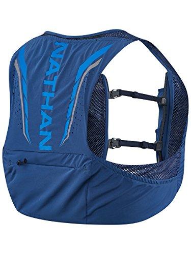 Nathan NS4544-0377-33 Male 2.5L Running Hydration Packs, True Navy/Blue Nights, Medium
