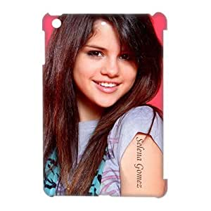 Custom Personalized Smile Singer Selena Gomez Cover Hard Plastic Ipad Mini Case