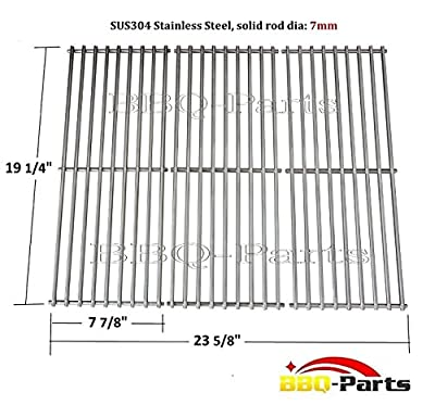 Hongso SCS531 BBQ Stainless Steel Wire Cooking Grid Replacement for Select Gas Grill Models by Nexgrill, Perfect Flame and Others