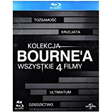 Kolekcja Bourne'a: ToĹzsamość Bourne'a/ Krucjata Bourne'a/ Ultimatum Borne'a/ Dziedzictwo Bourne'a