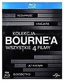 Kolekcja Bourne'a: To?zsamo?›Ä‡ Bourne'a/ Krucjata Bourne'a/ Ultimatum Borne'a/ Dziedzictwo Bourne'a [BOX] [4xBlu-Ray] (No English version)