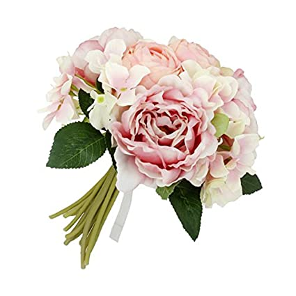 Buy MagiDeal Bridal Wedding Bouquet Flower Arrangement Home ...