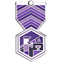 HEAD COACH Greeting Card & Gift (Enamel Lapel Pin / Jewelry Charm) for Sport Appreciation by Merit Medals