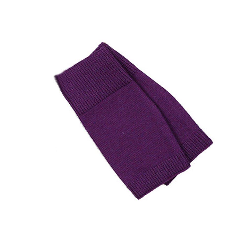 Neaer ニット 暖かい手袋 スポーツ 暖かい裸足の手袋 男女兼用 B077C1LT38  パープル