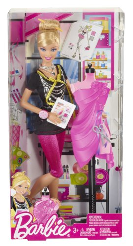 Barbie I Can Be Fashion Designer Doll (Fashion Barbie Designer)