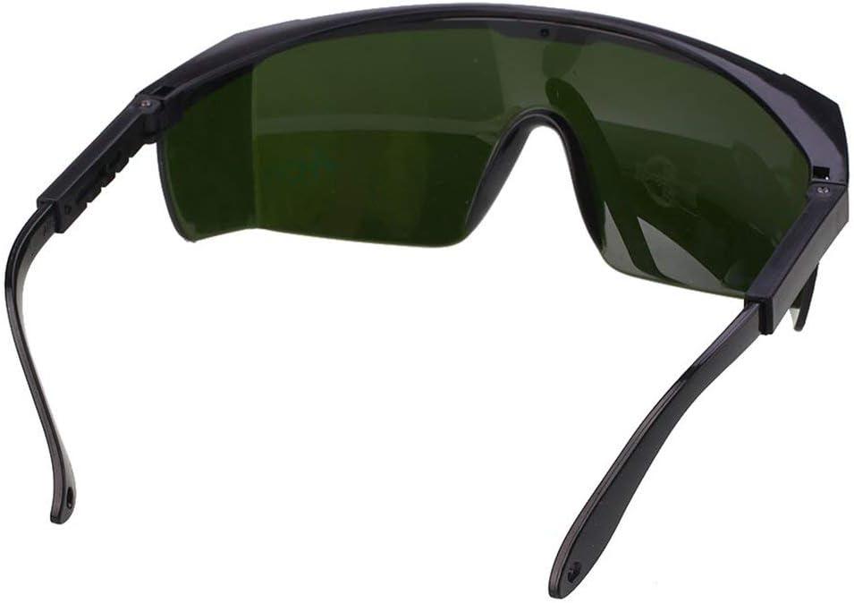 Gafas de seguridad láser Protección ocular para IPL/E-light Depilación Gafas protectoras de seguridad Gafas universales Gafas - Verde oscuro