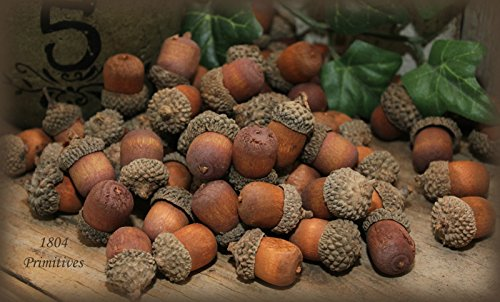 Inspiration for A Project Ornament 70 Wooden Acorns with Real Caps ~ Assorted Sizes ~ Fall Bowl Fillers DIY Rustic Primitive Decor Ideas]()