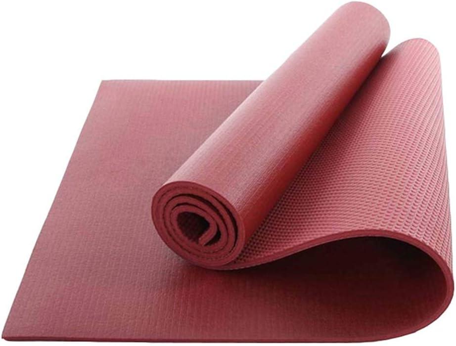 Style4 Second Sunny Große &Uu ;bungs-Yoga-Matte mit Tasche - PVC-Matten mit hoher Dichte für Gymnastik Pilates-&Uu ;bungs-Fitness