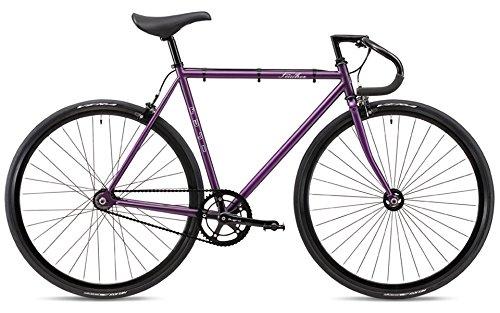 FUJI(フジ) FEATHER シングルスピード ピストバイク 19FETRPR56 MATTE PURPLE 56cm B07G2HLX7X