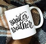Best Office-appropriate Sweaters - No9 Sweater Weather Mug Coffee Mug Fall Mug Review
