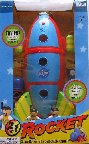 2 in 1 Space Rocket
