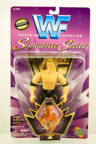 WWF Hunter Hearst-Helmsley Signature - Wrestling Black Amber