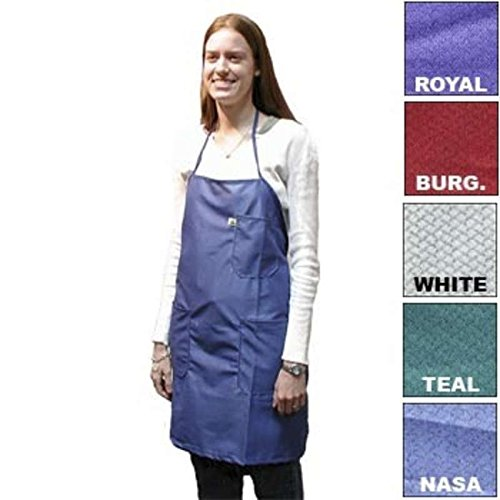 ESD-Safe BBQ-Style Apron in IVX-400 Material, Burgundy, One-Size-Fits-All
