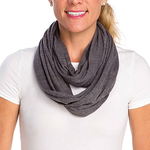 Infantino Infinity Scarf Nursing Cover, Grey by Infantino   B0185AGZX2