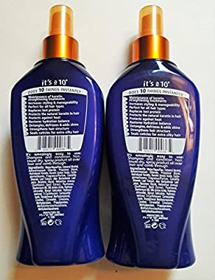 It's a 10 Miracle leave-in plus keratin 10 fl oz (Pack of 2)