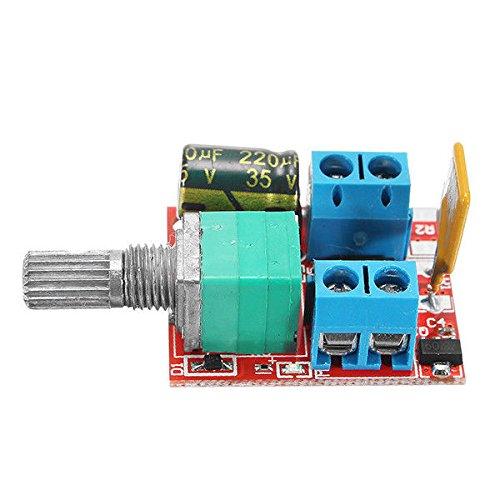 Cikuso Dimmer 5 V-30 V DC PWM regolatore di velocita Mini interruttore di controllo motore elettrico LED