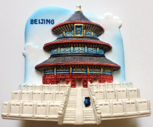 Beijing CHINA Resin 3D fridge Refrigerator Thai Magnet Hand Made Craft. by Thai MCnets ()