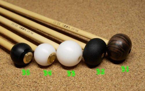 PLAY WOOD Keyboard Mallet Orchestra Series XG 安江佐和子プロデュース 木琴?鉄琴用マレット (XG-31 シロフォン) B00DY7SS0A  XG31 シロフォン