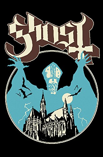 Ghost Poster Opus Eponymous Band Logo Official Textile Flag