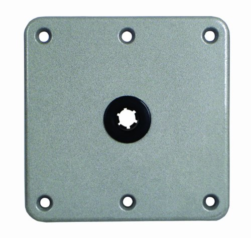 Attwood 7X7 Aluminum 3/4-Pin Base (Aluminum Mount Seat)