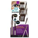 NICKA K 24Hr Waterproof Eyeliner 60 Pieces Display Case Set plus 3 Testers