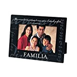 Lighthouse Christian Products Spanish Familia Family Metal Frame, 4 x 6, Black