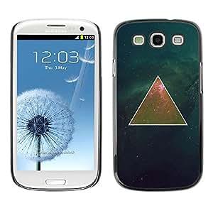 For SAMSUNG Galaxy S3 III / i9300 / i747 Case , Deep Mathematics Universe Space - Diseño Patrón Teléfono Caso Cubierta Case Bumper Duro Protección Case Cover Funda